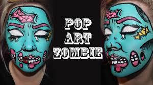 pop art pin up zombie makeup tutorial shlemonade you