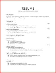 Personal Interests On Resume Examples Project Manager Resume Objective