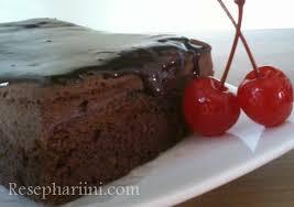 Resep Brownies Kukus Ny Liem Topping Chocolate Glaze Ekonomis