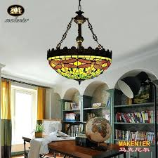 20 pendant light vintage style stained glass green dragonfly inverted ceiling pendant lamp inches lampshade 20 20 pendant light