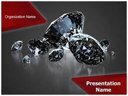 Shiny Diamonds Powerpoint Template Is One Of The Best Powerpoint