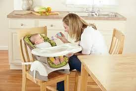 Trẻ mấy tháng thì tập cho bé ngồi ghế ăn dặm được? - Kids Plaza