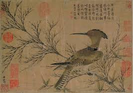 ancient chinese painting a bird by zhao meng fu yuan dynasty by artinroom