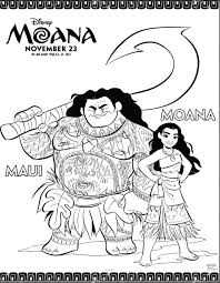 Like i said before, now that my kids are getting a little older, i'm having to pay special attention to what those little ones are into! Disney S Printable Moana And Maui Coloring Pages Popsugar Family