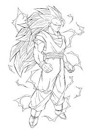 Small Picture Dragon ball z coloring pages goku super saiyan ColoringStar