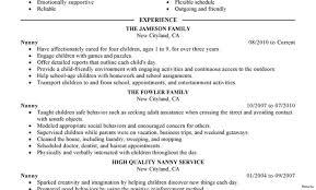 Babysitting Resume Examples Best Babysitter Resume Example Livecareer Babysitting Skills 57