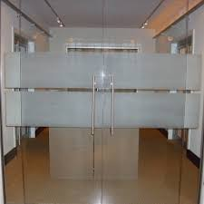 Office glass door Business Swing Transparent Office Glass Door Indiamart Swing Transparent Office Glass Door Rs 600 square Feet Meher