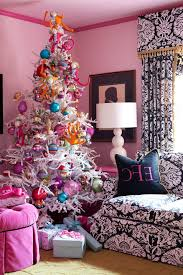 little rock painted tree on wall with cotton decorative pillow covers living room eclectic and pink
