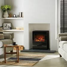 riva vision electric stove from victorian fireplace