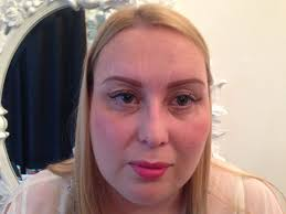 tracie giles permanent in the clinic with the brows drawn on by karina