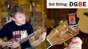 How To Tune A Baritone Ukulele To Dgbe Standard Tuning