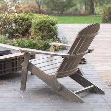 all weather adirondack chairs wonderful belham living all weather resin wood adirondack chair gray