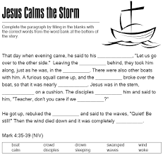 But when jesus so quickly calmed the storm, their fears were. Pin On Ideas For Sunday Night