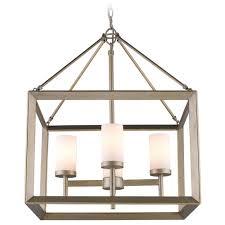 golden lighting smyth white gold chandelier alt2