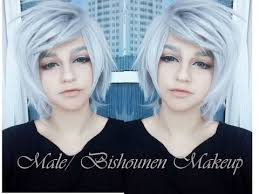 male bishounen cosplay makeup tutorial