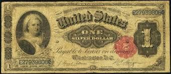 Antique Money Value Of 1 Silver Certificate