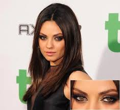 mila kunis smokey eye tutorial