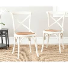 x back dining chairs. Safavieh Franklin Ivory Oak \u0026 Rattan X Back Dining Chair (Set Of Chairs U