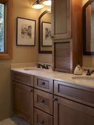 bathroom double vanity with center tower. bathroom double sinks with tower storage vanity center a