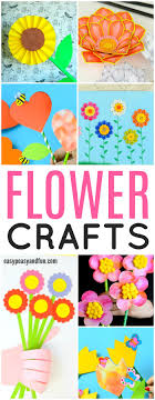 How To Make Children S Day Chart 25 Wonderful Flower Crafts Ideas For Kids And Parents To