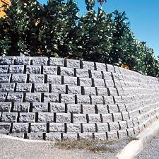 solid concrete block for retaining walls high performance stone look vauban