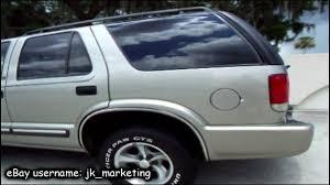 Demo Drive and Walk Around Presentation of a 2000 Chevrolet Blazer ...