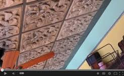 How To Install Decorative Ceiling Tiles How To Install GlueUp Butt Joint Ceiling Tiles Ceilume 62