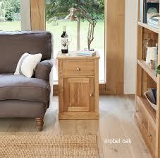 picture mobel oak. Mobel Oak One Door Drawer Lamp Table Picture