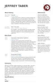 Courier Resume Samples Visualcv Resume Samples Database