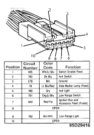 Ford wiring schematic speaker diagram odicis