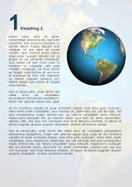 Animated Earth Word Template 02767 Poweredtemplate Com