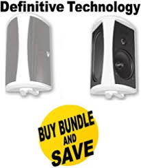 definitive aw6500. definitive technology aw6500 200 w rms speakers - 3-way white bundle aw6500 6