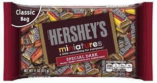hershey s miniatures special dark 311g