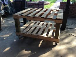 pallet outdoor furniture plans. Outdoor Pallet Wood Coffee Table Furniture Designs: Plans