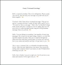 Professional Voicemail Greetings Script Writers Proper Greeting For
