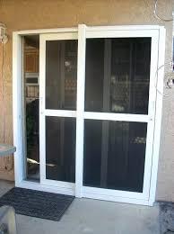 retractable screen door screen doors how to install a retractable screen door on a sliding