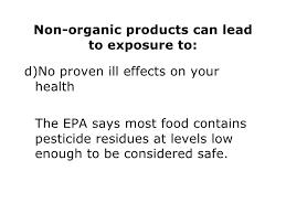 organic food labeling 44
