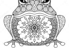 Hidden Animali Disegni Da Colorare Per Adulti Con Mandala Animali Da