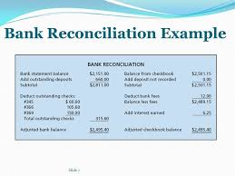 Bank Reconciliation Example Fascinating Sample Bank Reconciliations Kubreeuforicco