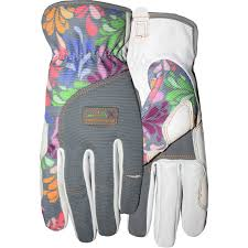 midwest gloves gear women s goatskin leather garden glove