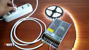 Подключение светодиодной ленты к разным блокам <b>питания</b> ...