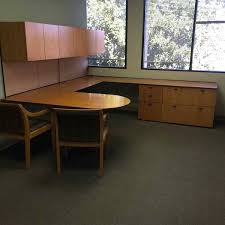 sell used office furniture orlando fl kimball maple 108x105x29 u shape desk used medical office furniture orlando used office furniture stores orlando fl