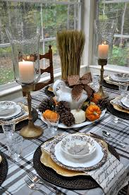 A cozy and inviting Thanksgiving tablescape isn't necessary a complex one.  A simple