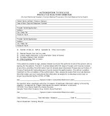 Medical Records Release Form Template Pretty Sample Patient ...