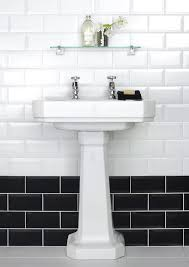 Black Border Tiles for Bathrooms Awesome Subwayile Walls Dark Floor