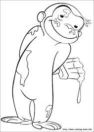curious george coloring book pages festival collections app curious george coloring book