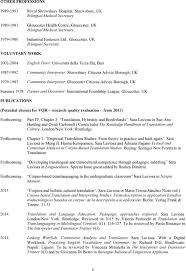 curriculum vitae sara laviosa formerly laviosa braithwaite pdf gloucester uk bilingual secretary voluntary work 2002 2004 english tutor università della