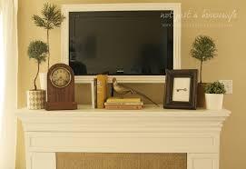 install a shelf mantel