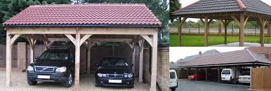 planning for car ports timber frame oak carports