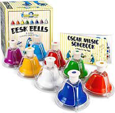 New extend your range for more musical possibilities. Amazon Com Miniartis Desk Bells Set For Kids 8 Notes Diatonic Colorful Metal Hand Bells Kids Musical Instruments Music Songbook Carry Case Included Great Holiday Birthday Gift For
